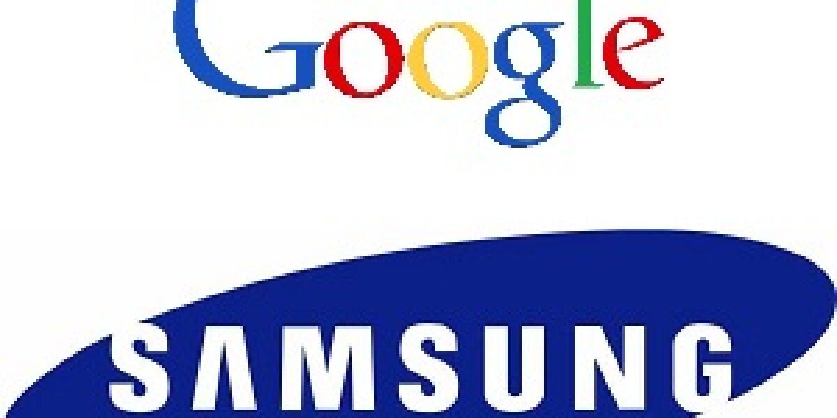 Patentvertrag zwischen Google und Samsung