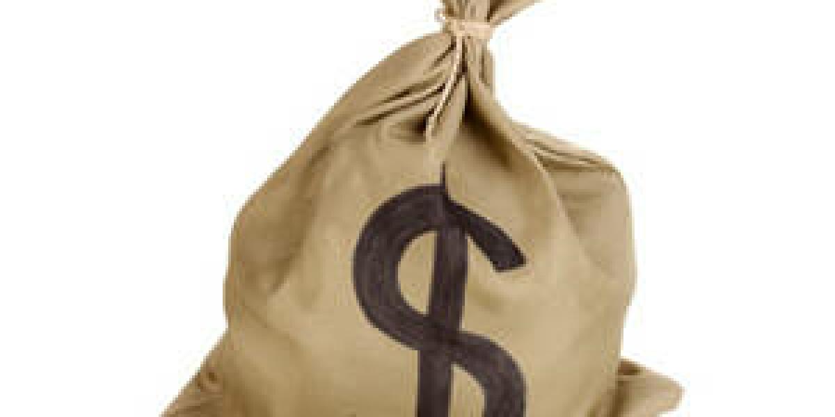 Geldsack mit Dollarzeichen