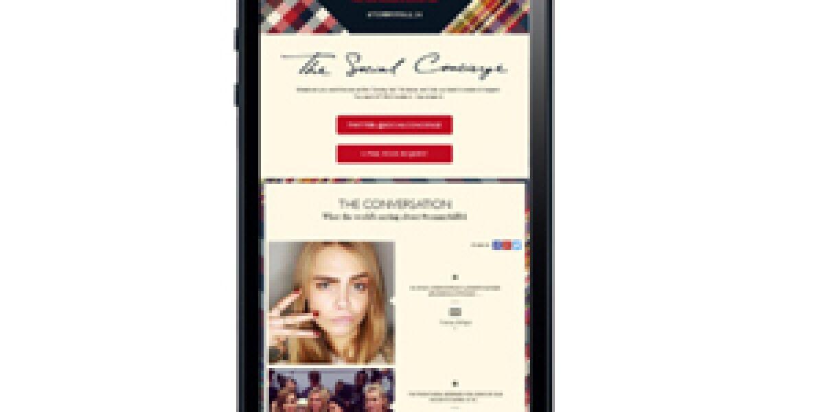 "Tommy Hilfiger und der ""Social Concierge 2.0"""