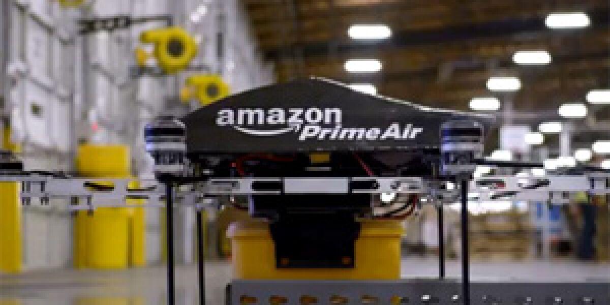 "Amazon bastelt an Drohnen-Service ""Amazon Prime Air"""