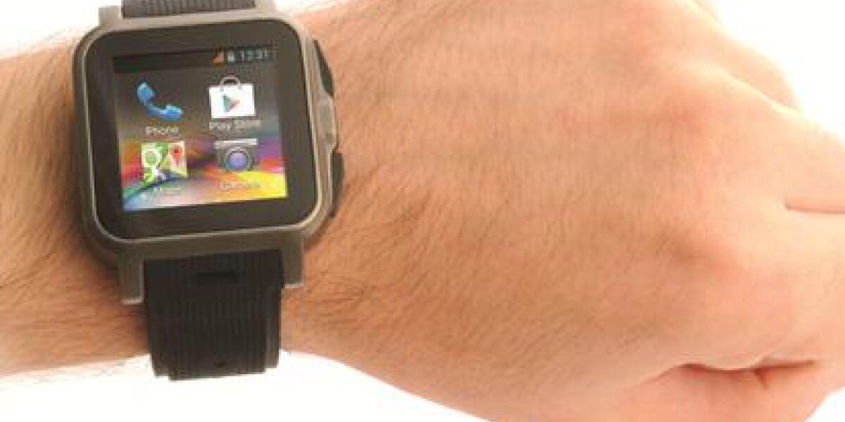 Android-Smartwatch von IconBit