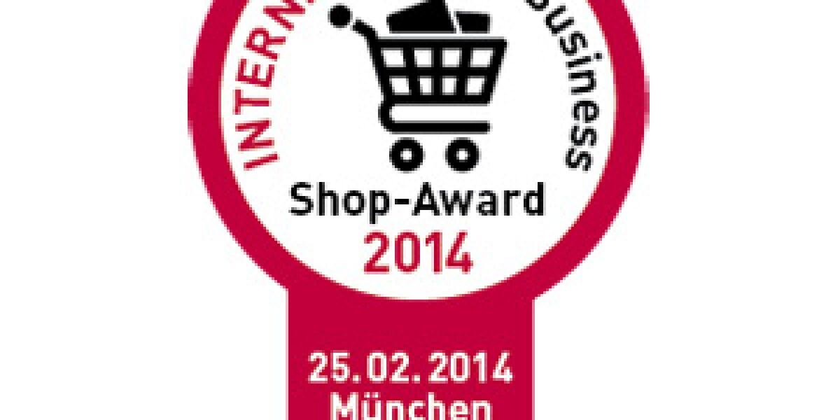 INTERNET WORLD Business Shop-Award 2014: Aufruf zur Bewerbung