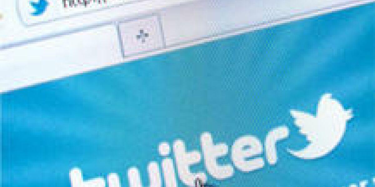 Twitter-Test mit Tweets aus der Nähe
