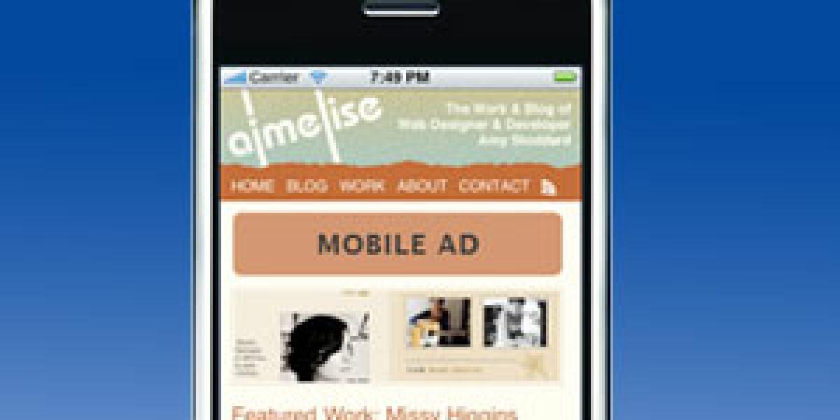 Erfolgsfaktoren für mobile Bannerkampagnen