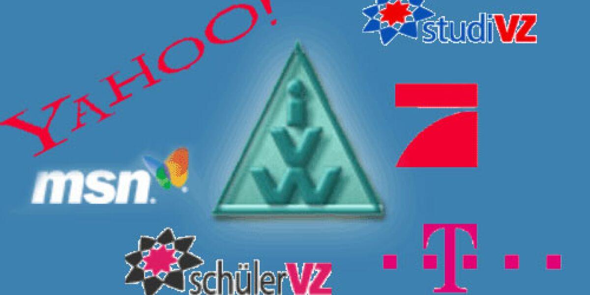 VZ-Netzwerke verlieren 40 Millionen Visits im IVW-Ranking