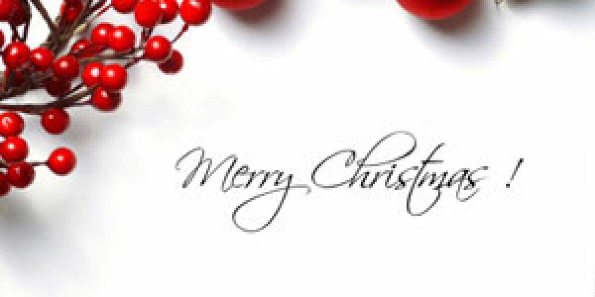 Mailmarketing zu Weihnachten Foto: iStock.com