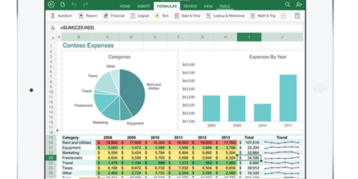 Microsofts Office-Paket gibt es nun auch für das iPad: Word, Excel und PowerPoint für iOS stehen ab sofort zum Download zur Verfügung. Zur Nutzung aller Funktionen benötigt man ein Abo von Office 365.