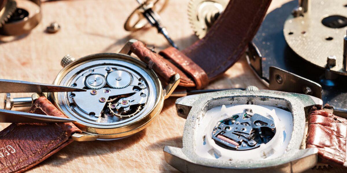 Uhren in Reparatur