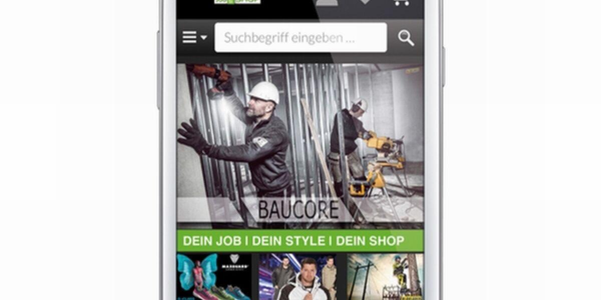 Mobile Shop von Baucore