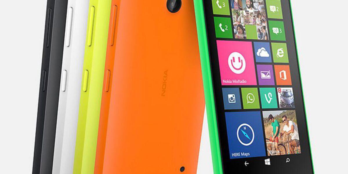 Mit dem Lumia 630 und 635 präsentiert Nokia zwei neue Einsteiger-Smartphones und zeigt außerdem das Oberklasse-Modell Lumia 930 mit aufwändigen Foto- und Video-Features.