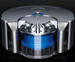 Dyson-Staubsauger 360 Eye - Dieser Staubsaug-Roboter kartiert die Wohnung mit einer 360°-Kamera und Infrarot-Sensoren, um pannenfrei zu manövrieren. Dyson will den auf der IFA erstmals vorgestellten Sauger im kommenden Jahr auf den Markt bringen.