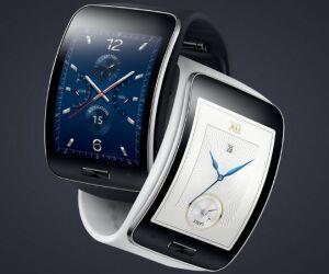 Samsung Gear S - Die Smartwatch-Neuheit aus Korea verfügt über einen SIM-Kartenslot, so dass sich die Uhr auch autonom betreiben lässt. Im Gegensatz anderen Herstellern setzt Samsung bei seiner Uhr mit 2-Zoll-Display und Pulsmesser auf Tizen.