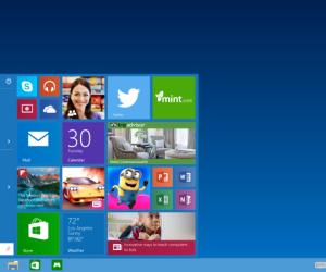 Das Startmenü ist zurück: Für viele Anwender war das verschwundene Startmenü der größte Kritikpunkt an Windows 8.
