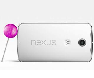 Auch Google kann groß: Das in Zusammenarbeit mit Motorola entwickelte Nexus 6 Phablet ist mit Abmessungen von 82,98 x 159,26 x 10,06 mm ein wenig breiter und dicker als das iPhone 6 Plus. Das Gewicht des neuen Android-Flaggschiffs, das mit Android 5.0 aka