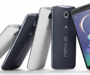 Im Inneren des Google Nexus 6 werkelt eine Krait-450-CPU. Der Quad-Core-Prozessor, ein Qualcomm Snapdragon 805, taktet mit 2,7 GHz und wird von einer Adreno 420 GPU unterstützt. Der Arbeitsspeicher ist mit 3 GByte üppig bemessen und für Daten stehen 32 od
