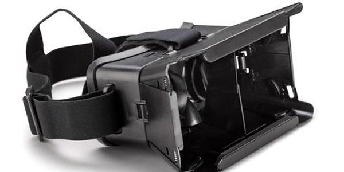 Mit der als Smartphone-Accessoire erhältlichen Virtual-Reality-Brille VR Glasses verspricht der Hersteller Archos neue Spiel- und Medienerlebnisse zu einem günstigen Kaufpreis.