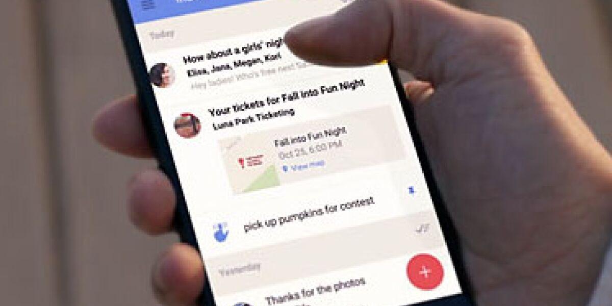 Gmail, nur besser. Google hat seinen neuen E-Mail-Dienst Inbox vorgestellt. Er soll E-Mails übersichtlich strukturieren und automatisch die wichtigsten Nachrichten-Inhalte hervorheben.