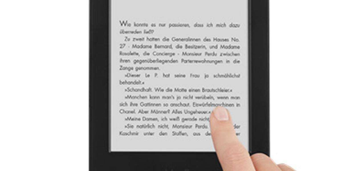 Amazon hat einen neuen E-Book-Reader für Einsteiger im Angebot: Der kleinste Kindle kommt nun ohne Tasten aus und lässt sich über einen Touchscreen bedienen. Doch was taugt der Einsteiger-Reader?