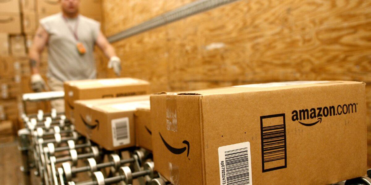 Pakete von Amazon