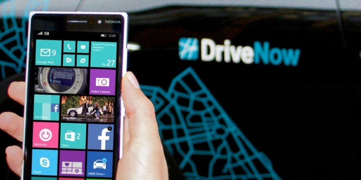 Drivenow-Auto mit Smartphone öffnen