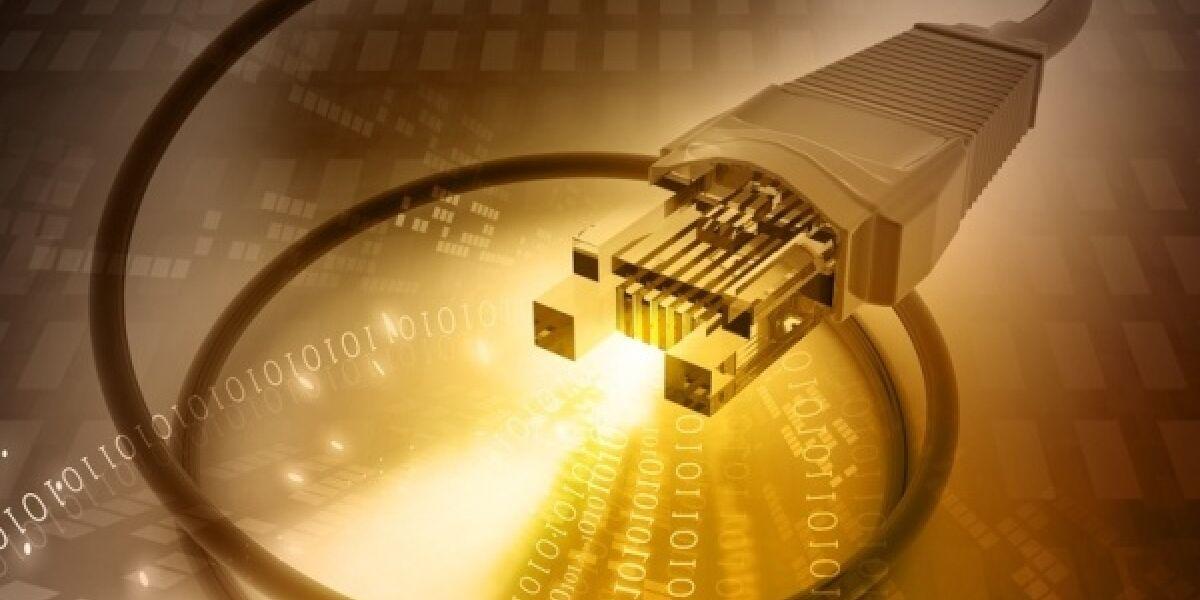 Internet-Anschluss-Kabel-Stecker