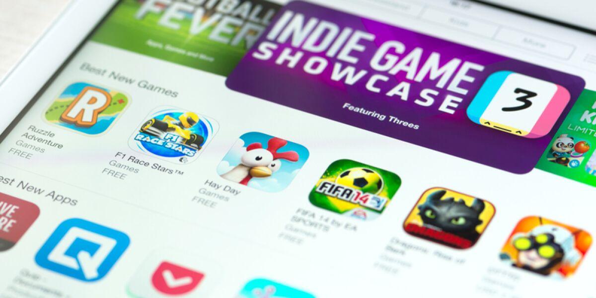 Apps auf dem iPad