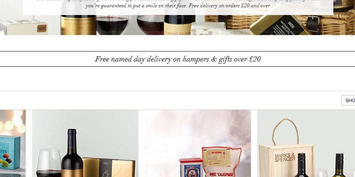 Geschenkefinder Marks und Spencer