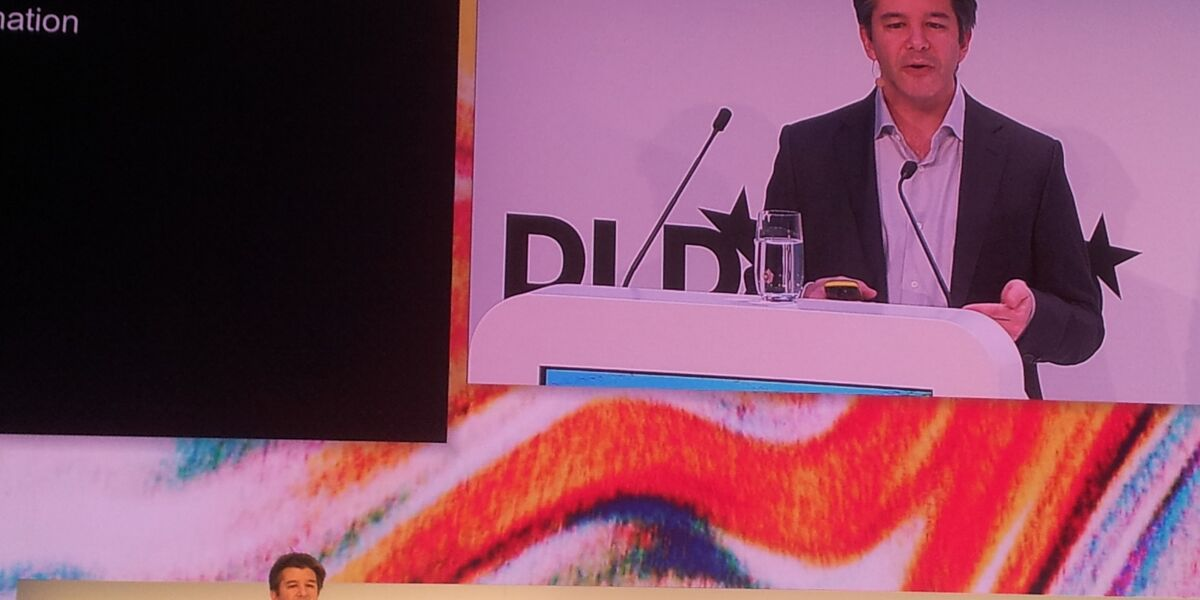 Travis Kalanick auf der DLD Conference