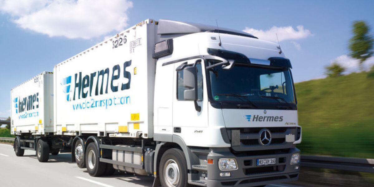 Hermes LKW Versand