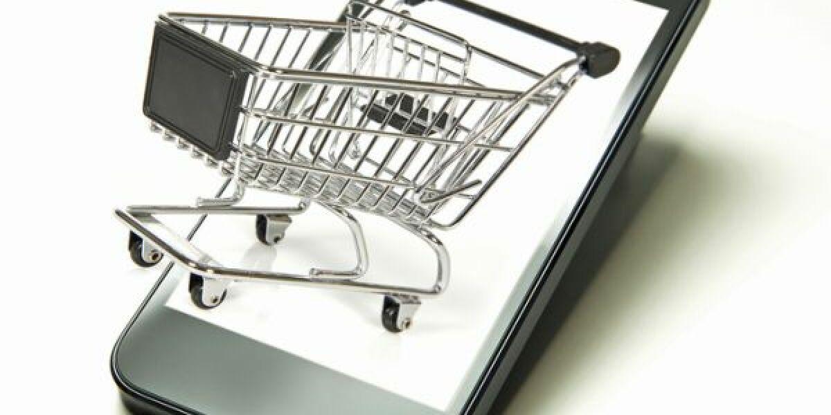 Einkaufswagen-im-Handy
