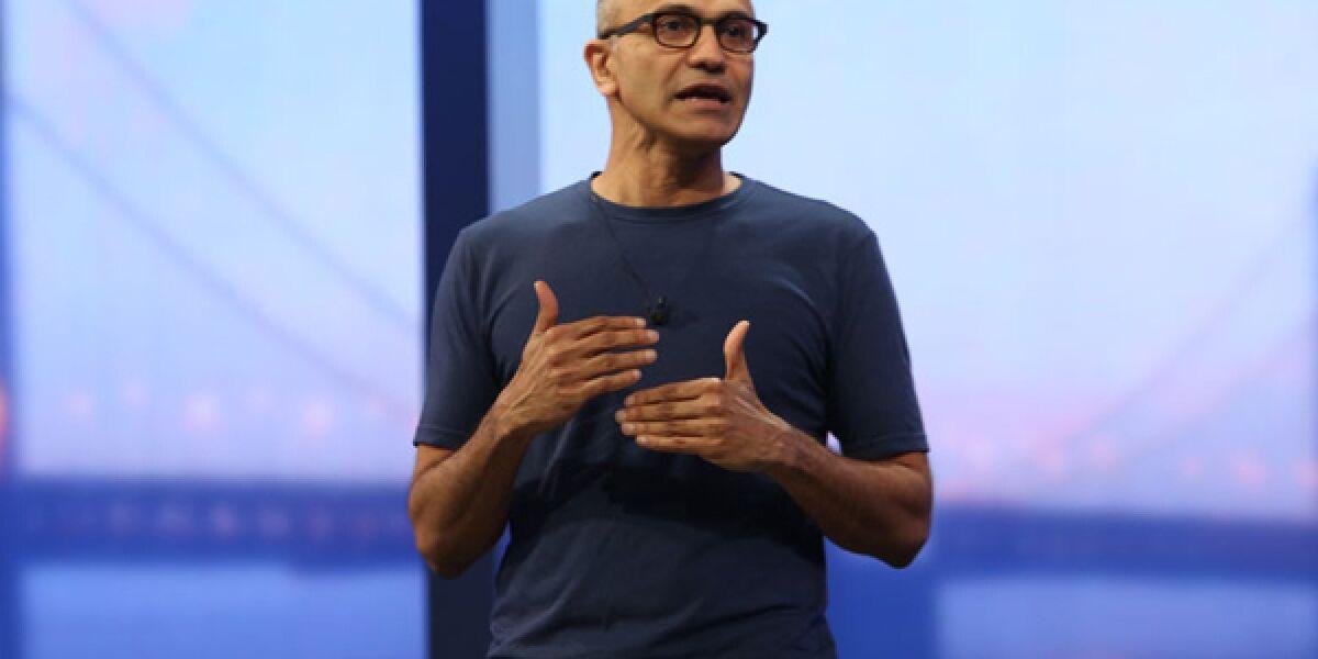 Microsoft-Chef Satya Nadella