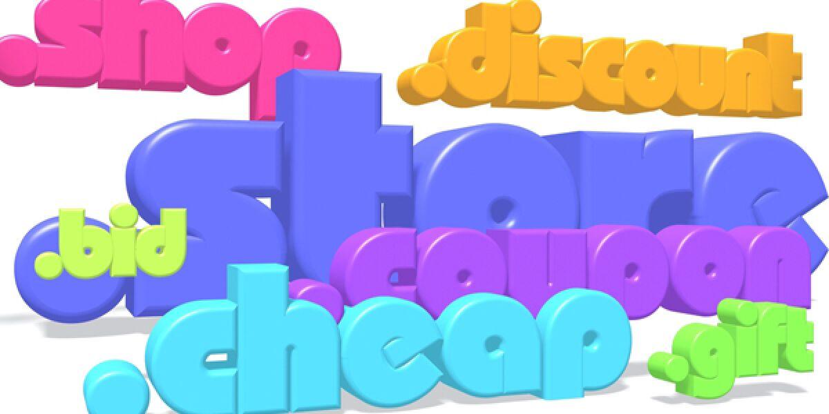 Neue Domains farbig dargestellt