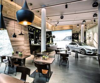 Mercedes Me Store in Hamburg