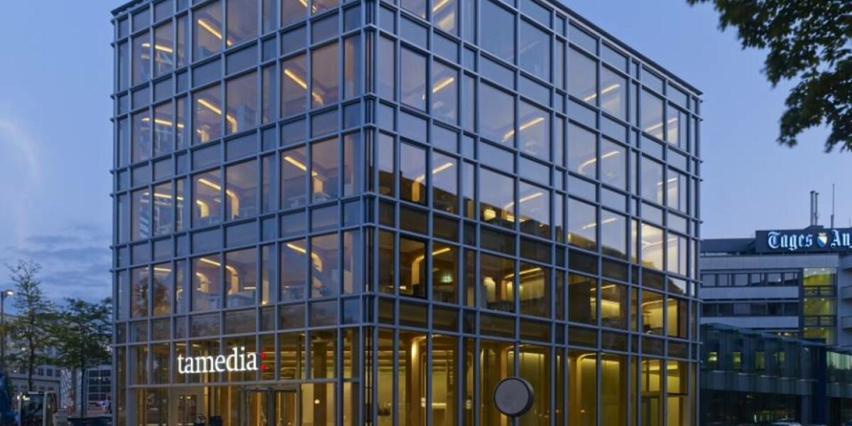 Tamedia Hauptsitz in Zürich