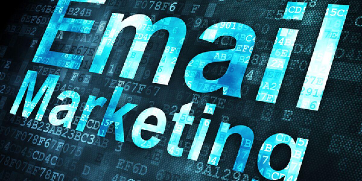 Schriftzug: E-Mail-Marketing