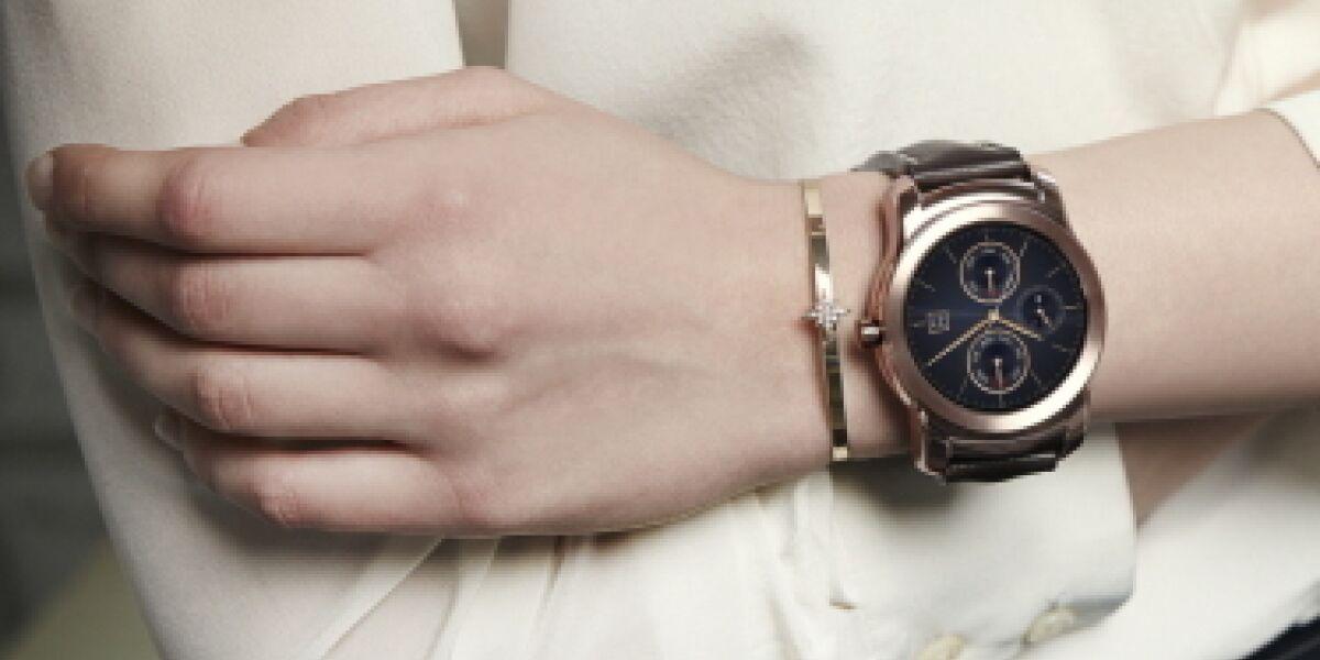 LG Watch Urbane Frau
