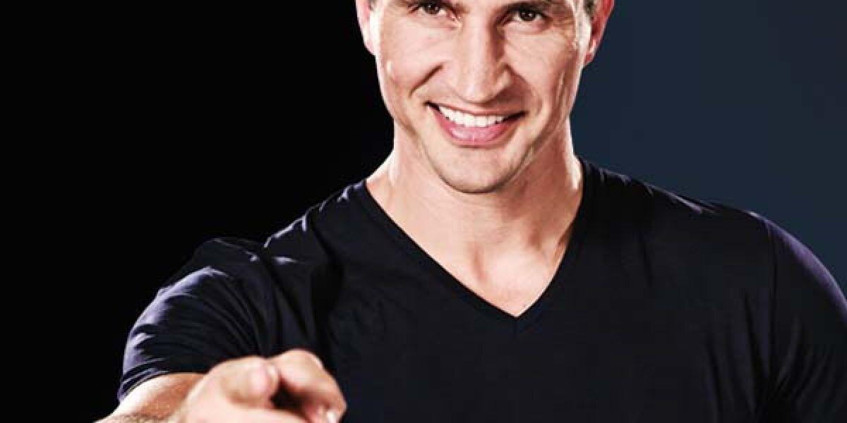 Wladimir Klitschko zeigt auf den Betrachter