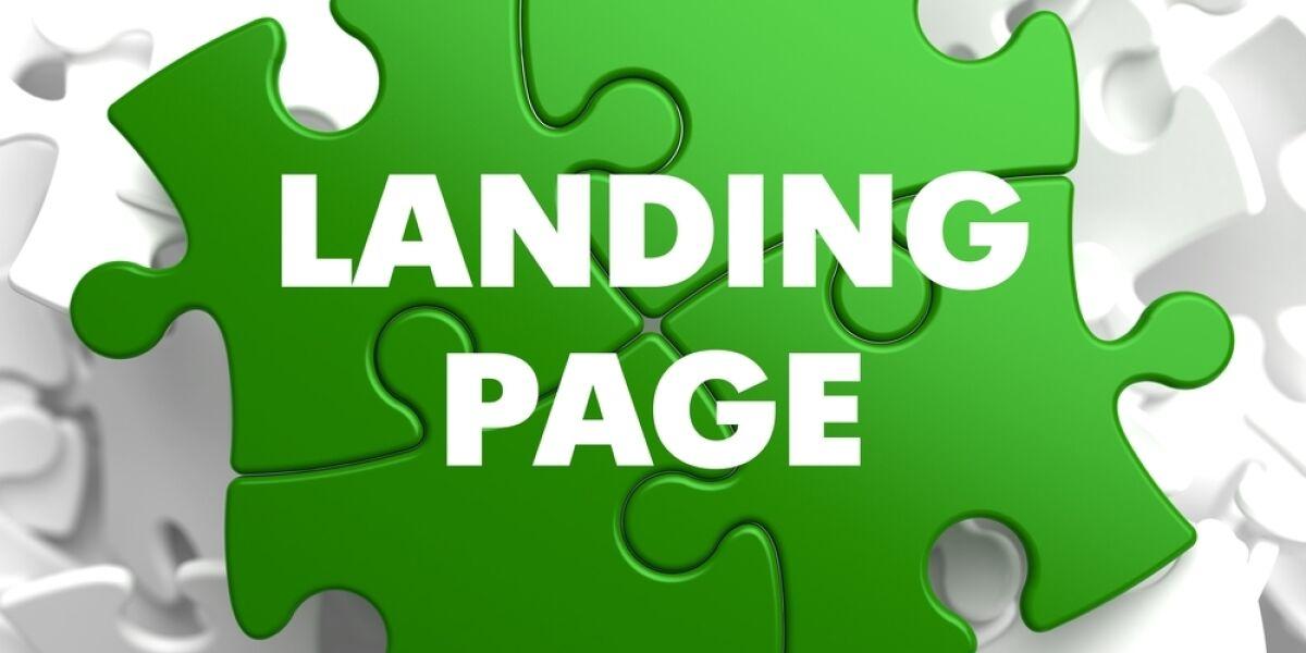 Landing Page Puzzleteile