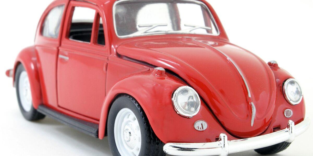 Roter VW-Käfer
