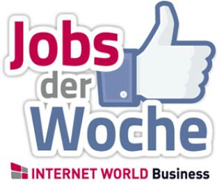 Jobs der Woche Logo mit Facebook Like