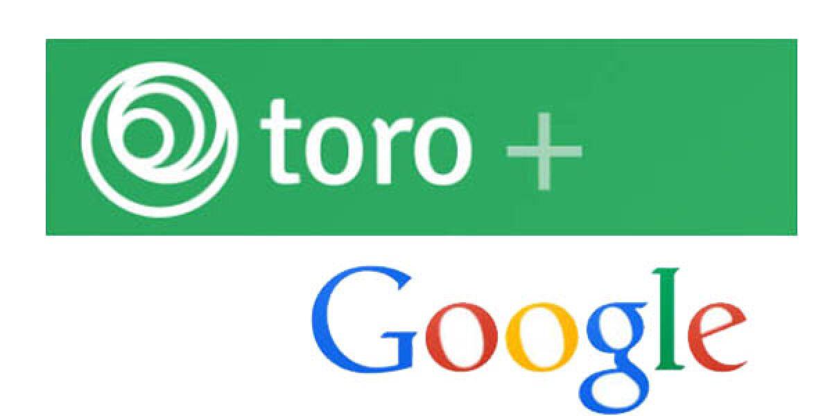 Google kauft Toro