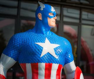 Captain America als Figur