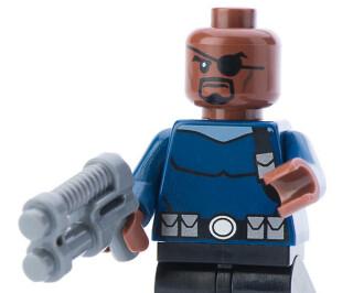 Nick Fury als Legofigur