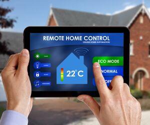 Smart Home auf dem Tablet