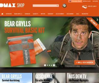 Screenshot Dmax-Shop.de