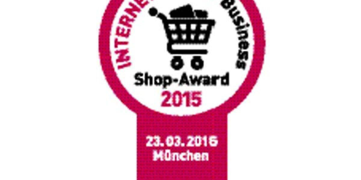 Vignette des INTERNET WORLD Business Shop-Award 2015