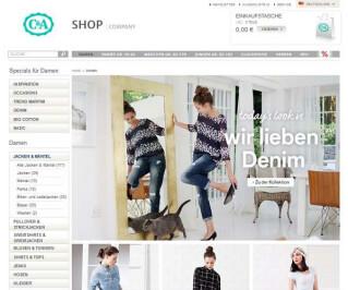 Screenshot C-and-a.com