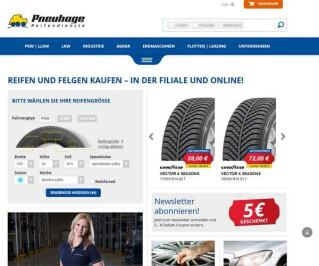 Screenshot Pneuhage.de