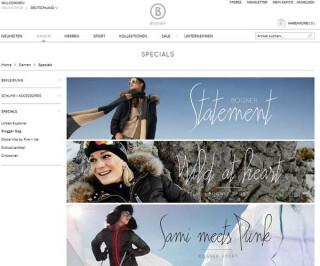 Screenshot Bogner.com