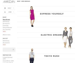 Screenshot Marc-cain.com